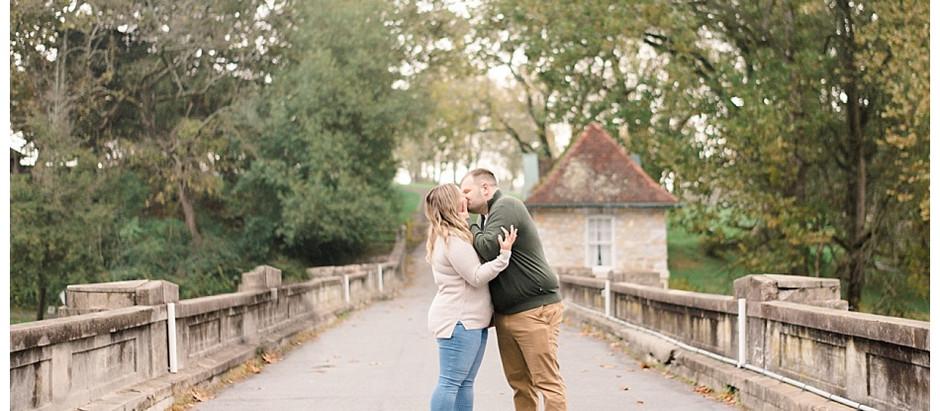 Kayla & Zach | An Autumn Gring's Mill Engagement
