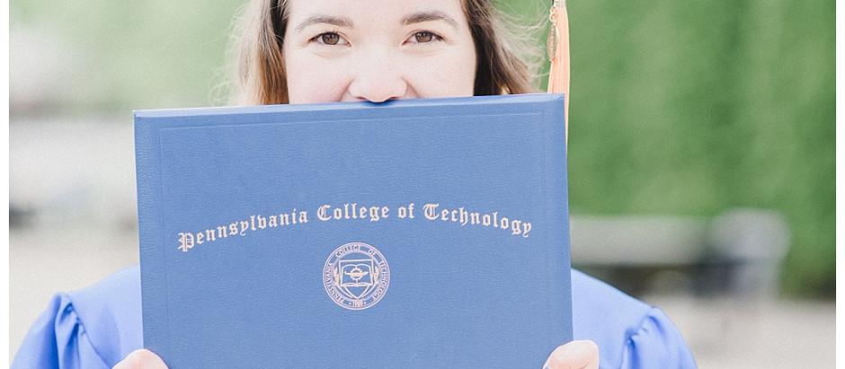 Gloria   A Penn College Graduation