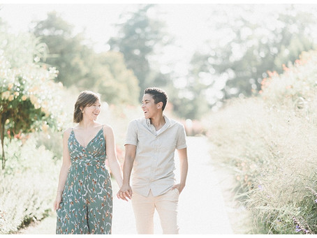 Cat & Abby | A Longwood Engagement