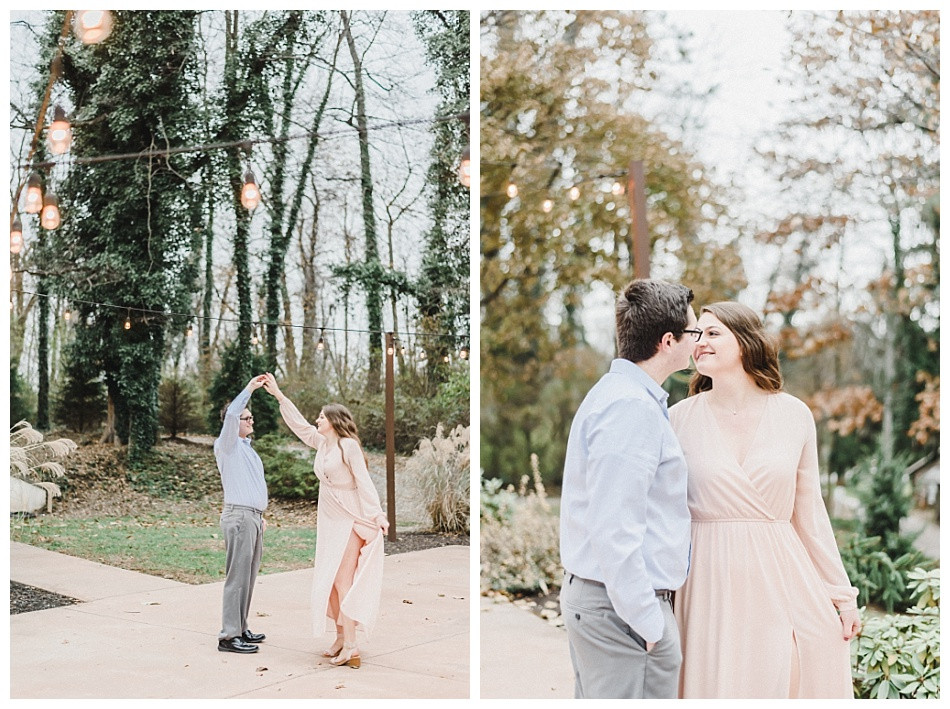 Fall Engagement Session at Historic Shady Lane in Manchester York captured by Angela Weiler Photography - Fine Art Wedding and Lifestyle Photographer from Lancaster Pennsylvania.
