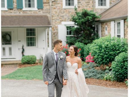Justin & Ellie | A Two Harts Barn Wedding