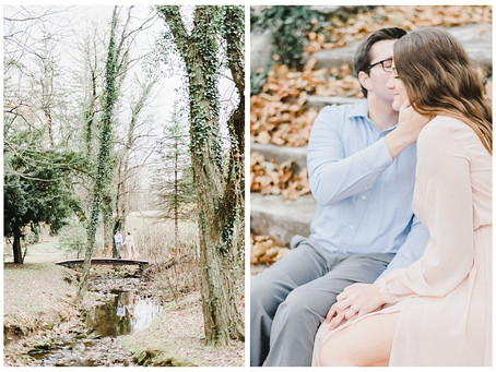 Coryn & Coulson | A Historic Shady Lane Engagement