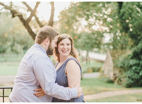 Sarah & Trey | A Poole Forge Engagement