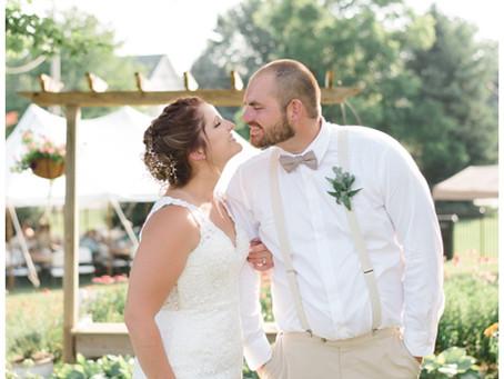 Matt & Anne | A Garden-Inspired Backyard Wedding