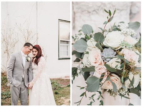 Brandon & Mari | A Winter La Luna Banquet Hall Wedding