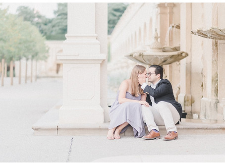 Nevin & Emily | A Longwood Gardens Engagement