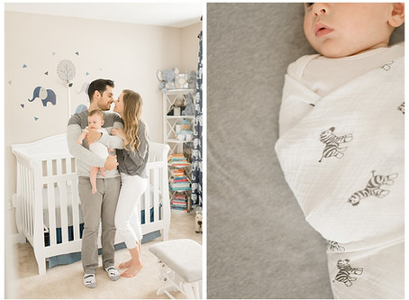Baby Leo & The Zema Family | Virginia Newborn Session