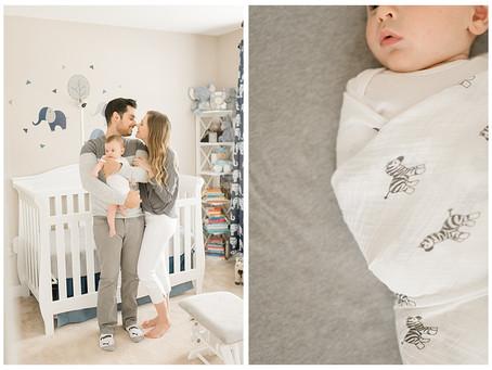Baby Leo & The Zema Family | Virginia Newborn Session