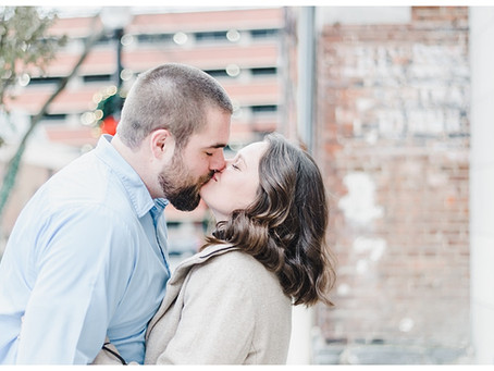 Bobby & Jennifer | A Lancaster City & Springhouse Brewery Co. Engagement