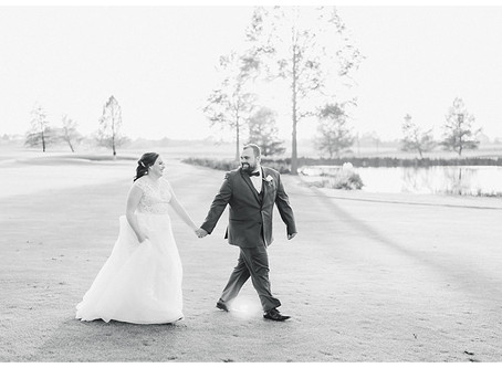 Scott & Victoria | A Foxchase Golf Club Wedding