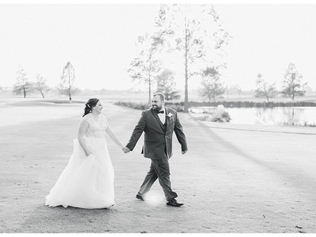 Scott & Victoria | A Foxchase Golf Club Wedding
