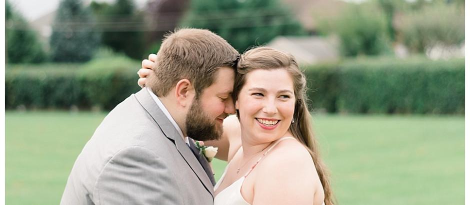 Sarah & Trey | A Sweet Chapel Minimony in Hershey PA