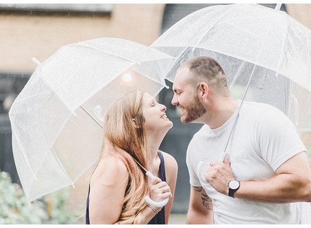 Matt & Anne | A Conestoga House and Gardens Engagement Session