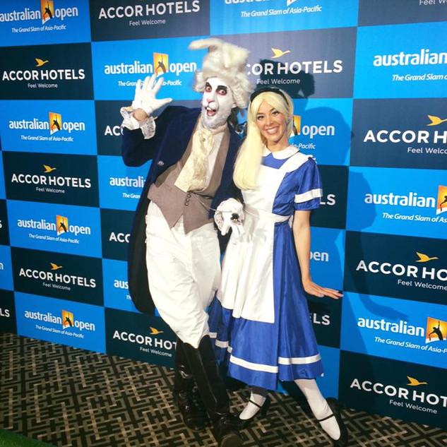Alice in Wonderland for the Australian Open