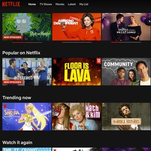 "Rostered On ""Popular on Netflix"" 2020"