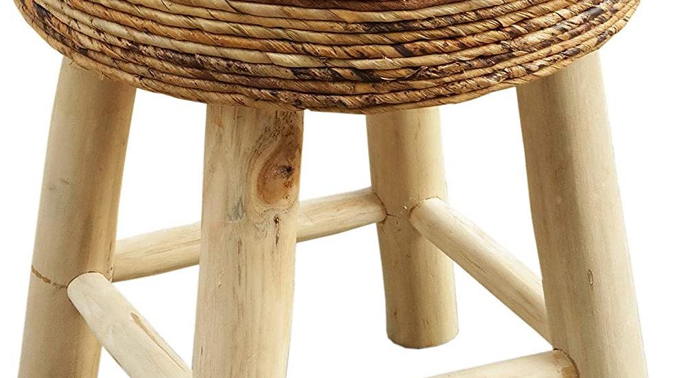 Genuine handcrafted Banana wood stool