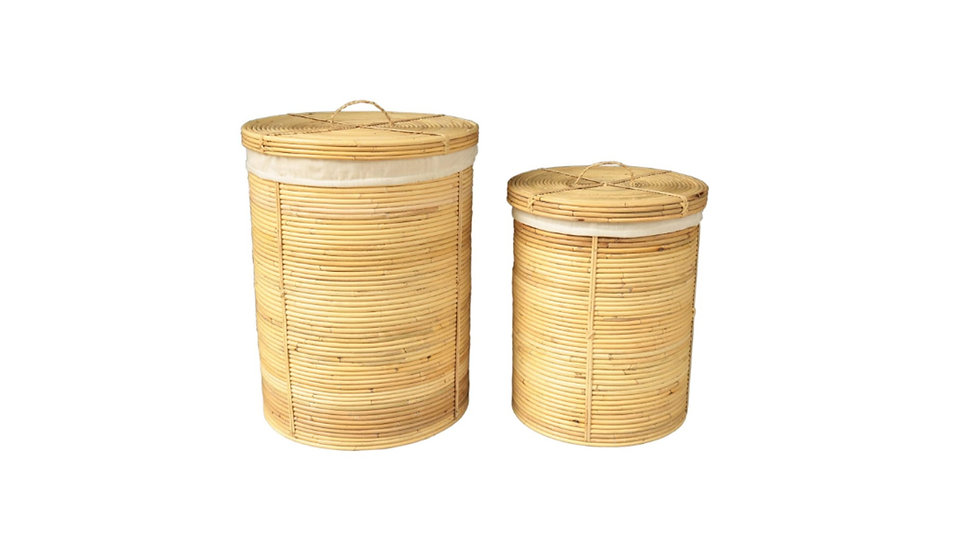 Authentic Handmade Rattan Baskets