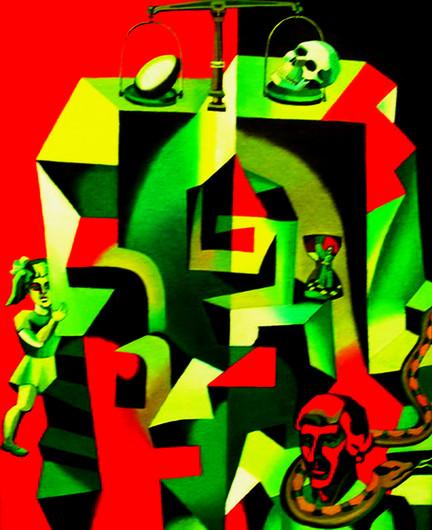 Creation and Destruction 86x60 (cmxcm) 2