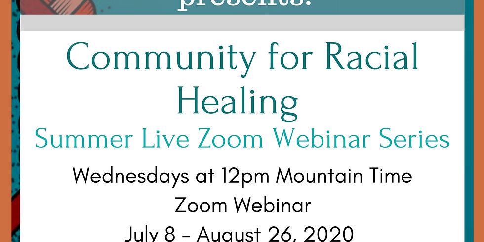 Community for Racial Healing Summer Webinar Series