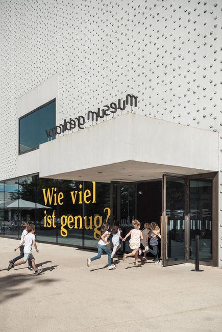 Fotografie @Karin Nussbaumer, Vorarlbergmuseum Eingang