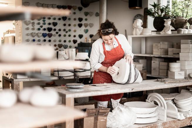 Business: Keramikmanufaktur - Margit Denz