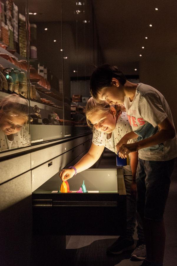 Fotografie @Karin Nussbaumer, Vorarlbergmuseum Kinder