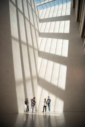 Fotografie Karin Nussbaumer, Vorarlbergmuseum Architektur Lichteinfall