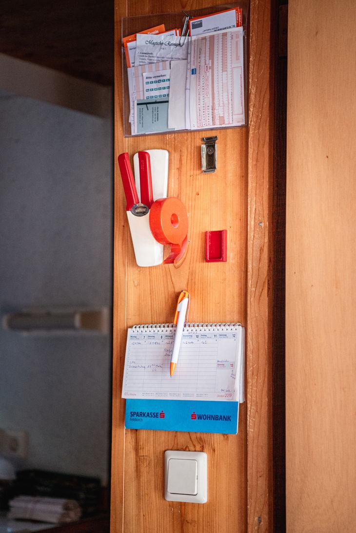 Ordnung Fotografie © Karin Nussbaumer