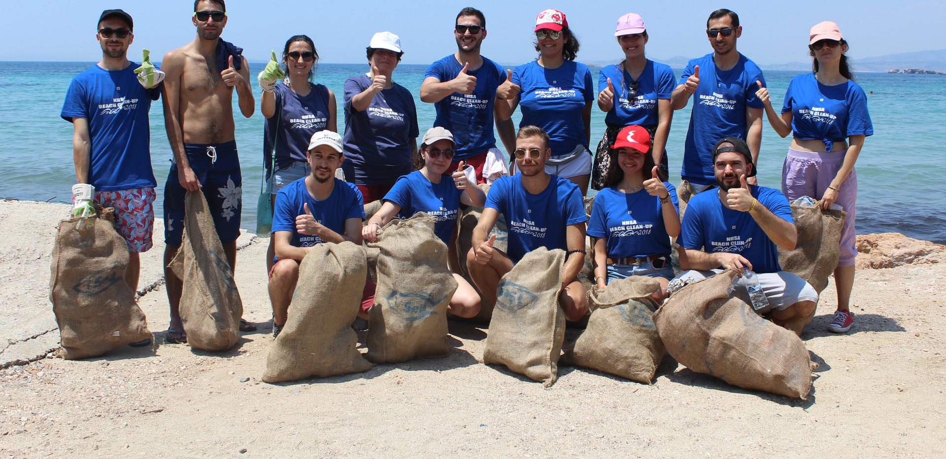 nhsa beach cleanup portes magazine 1