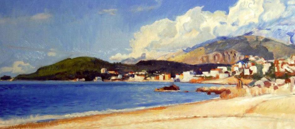 A Brushstroke of Light: THE ART OF MARIOS TZAVELLAS