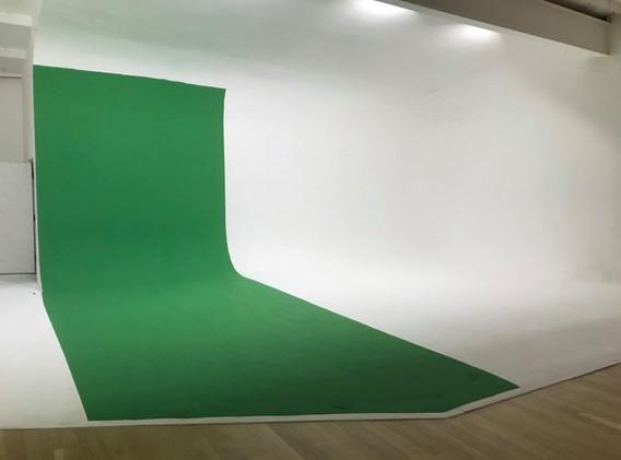 Partial green screens