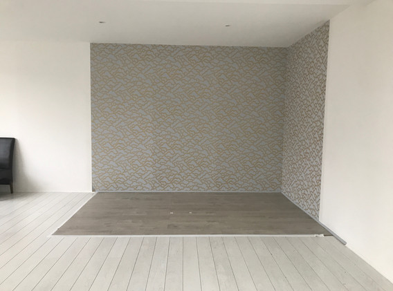 Wallpapering and Flooring