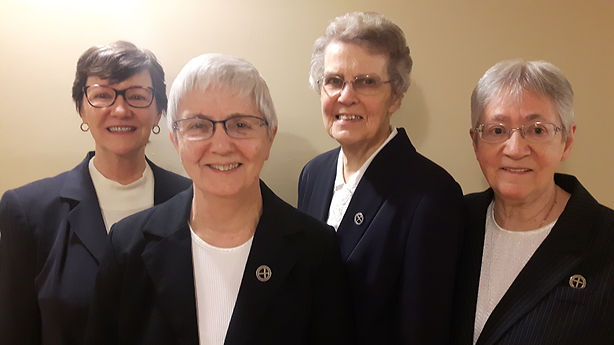 Leadership Team - L to R SIsters Joan Ca