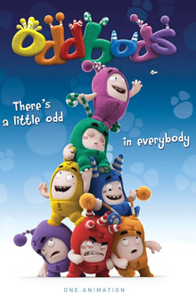 Oddbods Receives Third International Emmy Kids Award Nomination
