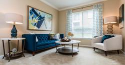 Weston Point model apartment