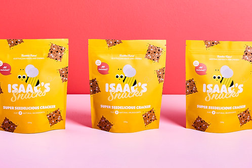 Seedelicious Cracker 3 Pack Bundle