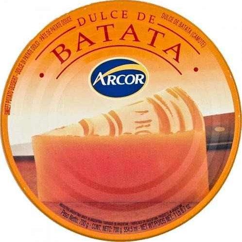 DULCE DE BATATA ARCOR 700 GS.