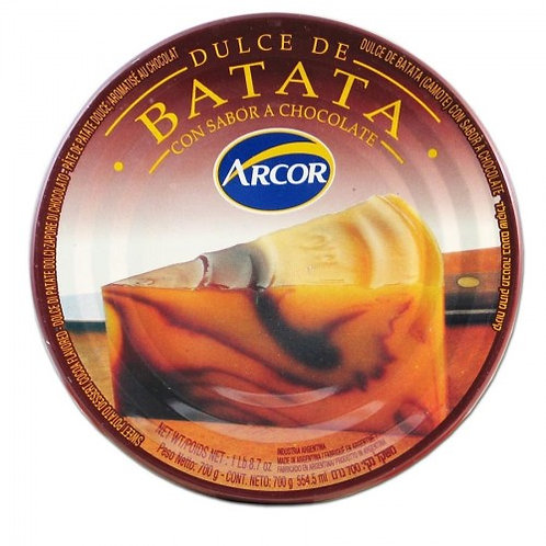 DULCE DE BATATA C/CHOCO ARCOR 700 GRS.