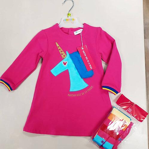 Agatha Ruiz de le Prada pink unicorn dress