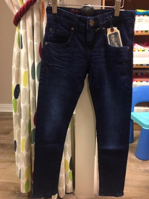 Petrol Dark Denim Jeans