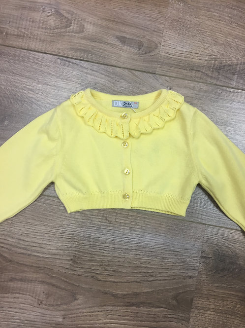 Dr.Kid Yellow Cardigan dress top