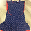 Thumbnail: Tuttio Piccolo Navy blue dress