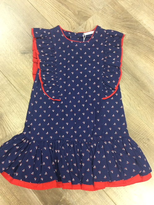 Tuttio Piccolo Navy blue dress