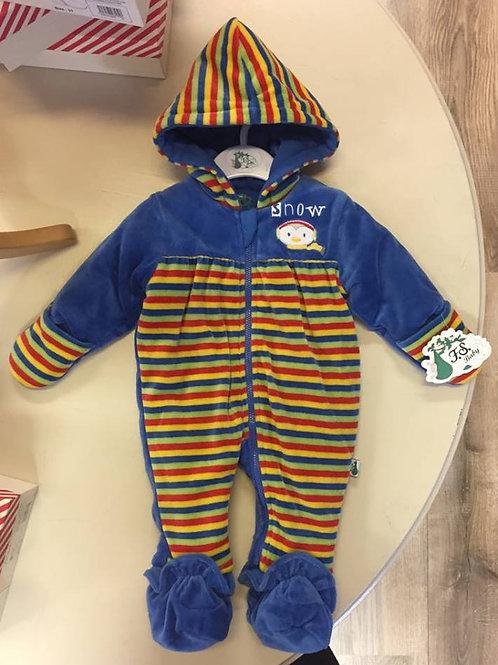 F.S baby - stripe babygrow