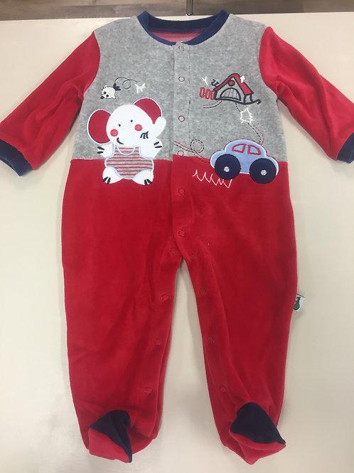 F.S Baby - red babygrow