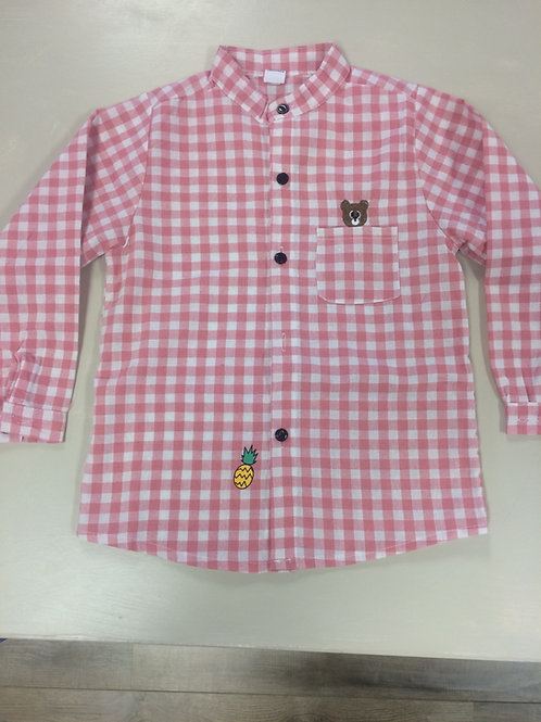 Girl Checker Shirt