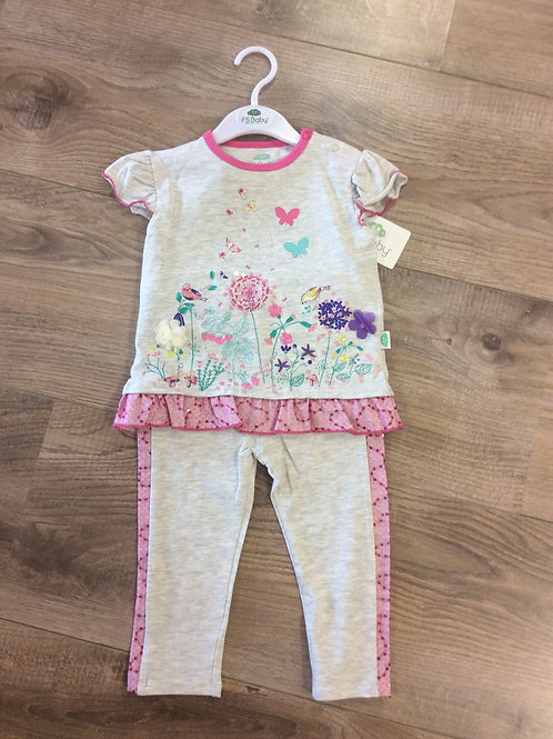 F.S. Baby top and tracksuit