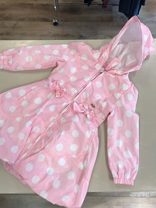 A'Dee Pink Polka Dot Jacket