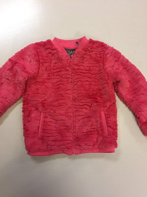 Losan pink fur Jacket
