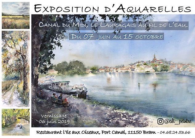 Bram 2019: Canal du Midi, le Lauragais au fil de l'eau
